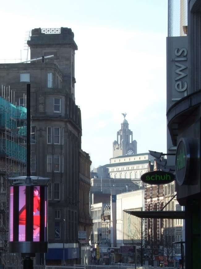 Church Street in Liverpool
