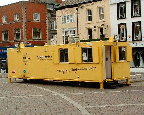 Merseyside Police Detention Centre in Williamson Square