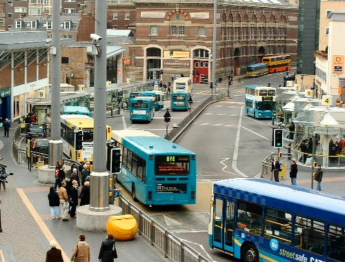 Queens Square bus station