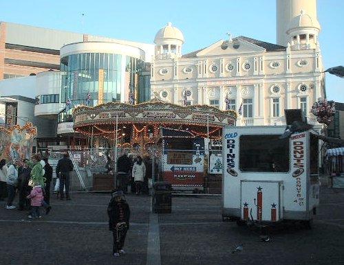 Williamson Square fair in November of 2002