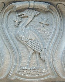 A Liver Bird in Liverpool