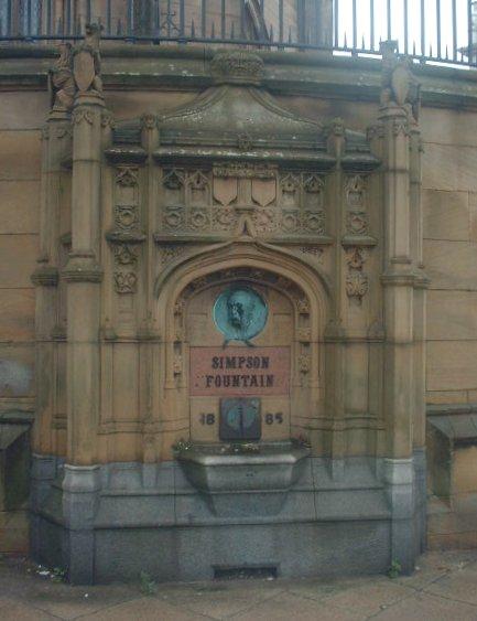 The Simpson fountain
