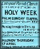 The Holy Week poster