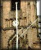 The mast from HMS Royal Arthur