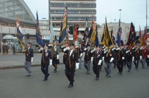 The Remembrance Sunday 2001