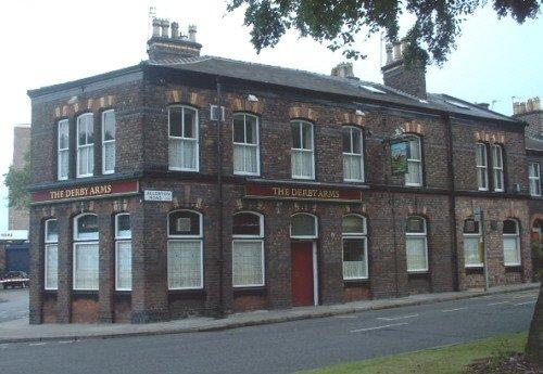 The Derby Arms pub - Allerton Road