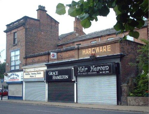 Former hardware shop on Woolton Street