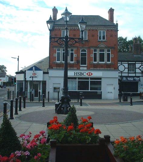 HSBC bank on Allerton Road - Woolton village