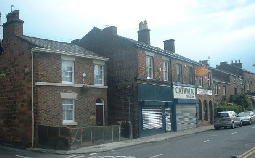 Shops on Allerton Road - Woolton village