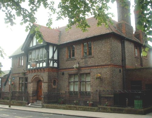 Woolton Village club house - Allerton Road