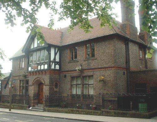 Woolton Village club house - Allerton Road