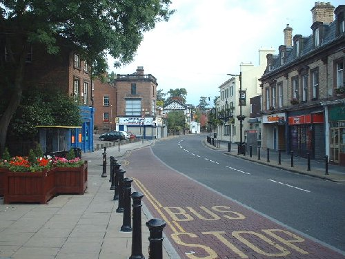 Shops on Woolton Street - Woolton Village