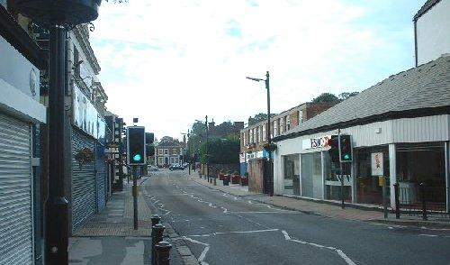 Shops on Woolton Street - Woolton Village