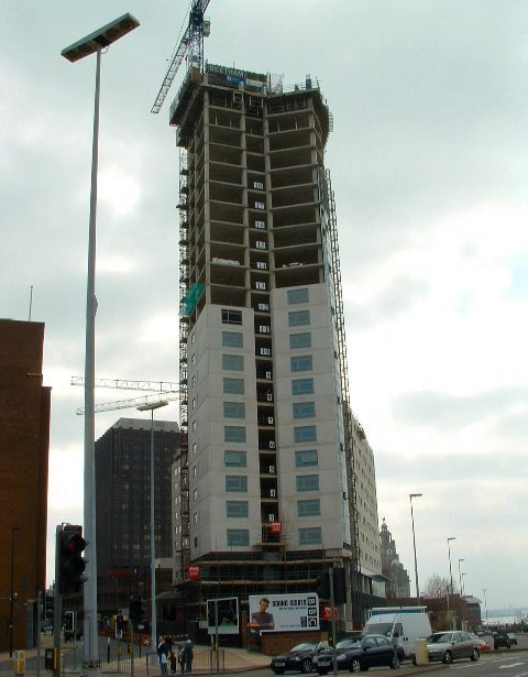The Beetham Tower development