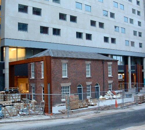 The Raddisson Hotel on Old Hall Street