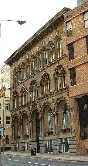 Chapel Street in Liverpool