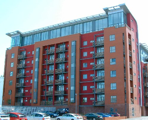 Bellway apartments - 40 and 44 Pall Mall off Tithebarn Street