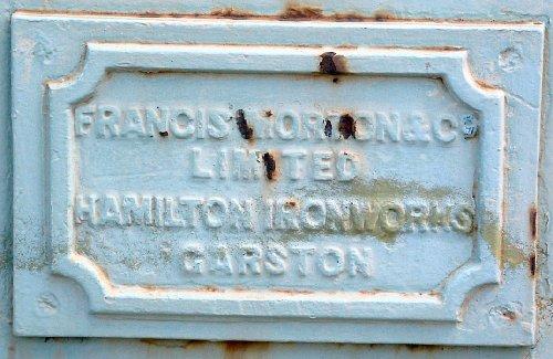Francis Morton & Co. sign on 66 Pall Mall