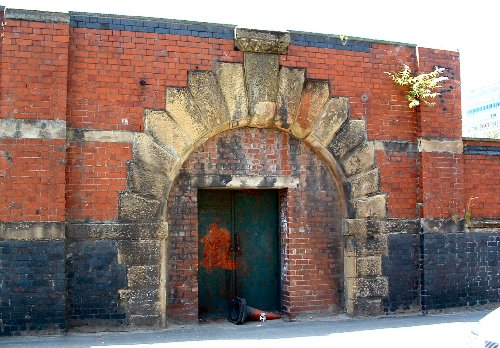 An arch on Pall Mall - once part of Exchange Station