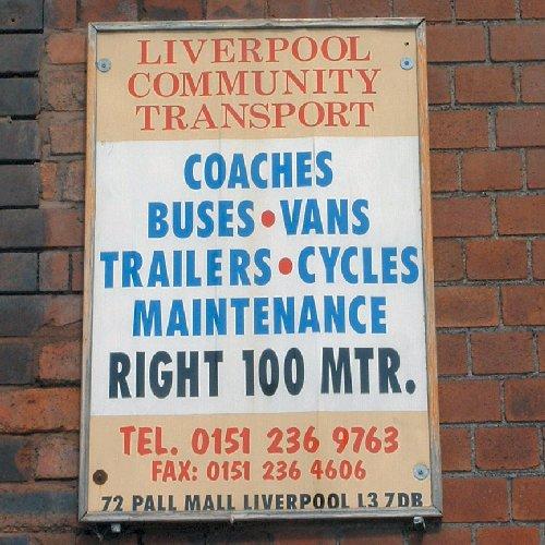 Transport Notice on Pall Mall