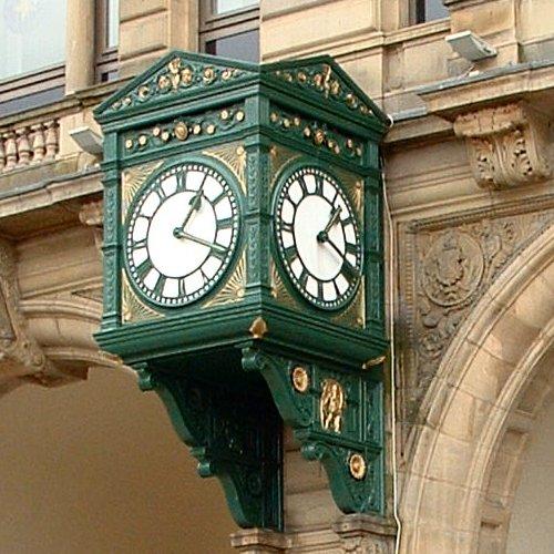 Exchange Station clock