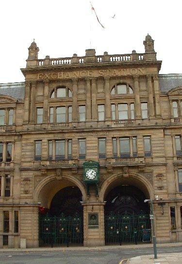 Exchange Station building