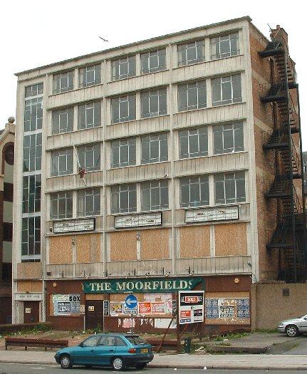The Moorfields pub