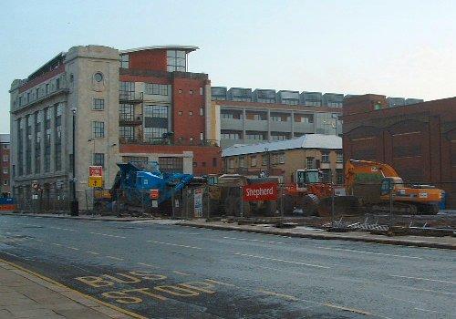 The City Square development