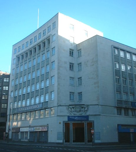 The Royal and Sun Alliance building