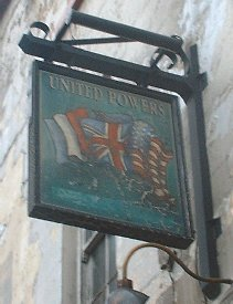 The United Powers pub sign