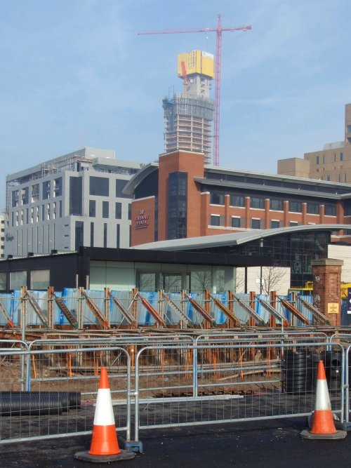 The West Beetham Tower development on Old Hall Street