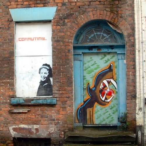 Graffito in Liverpool - Seel Street