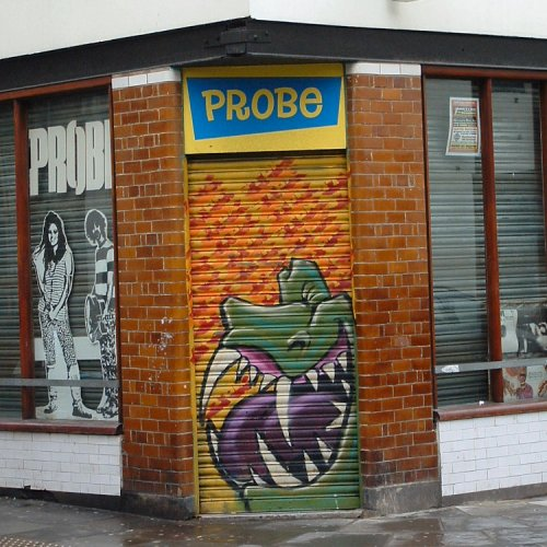 Graffito in Liverpool - Wood Street
