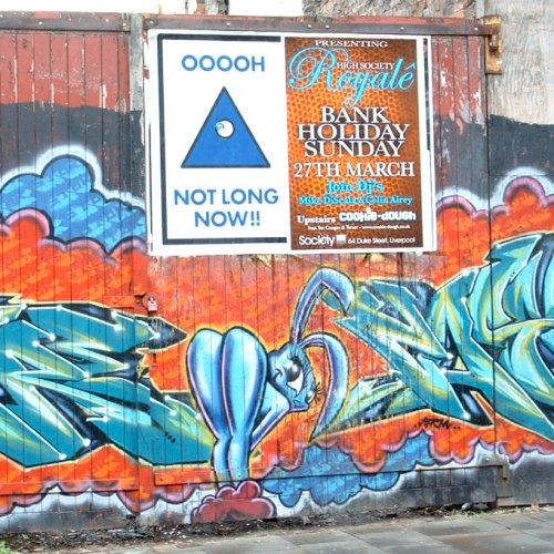 Graffito in Liverpool - Duke Street