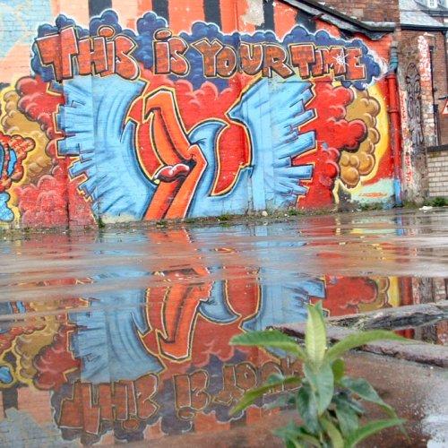 Graffito in Liverpool - Knight Street