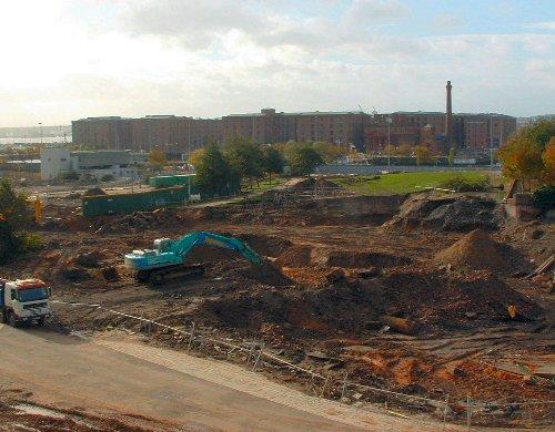 Chavasse Park under development