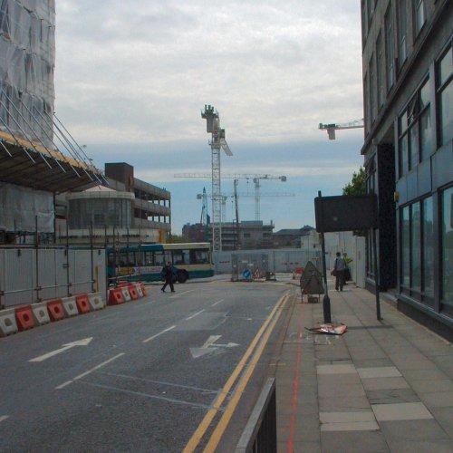 South John Street under development