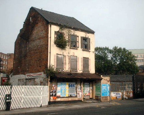 Old building on Hanover Street