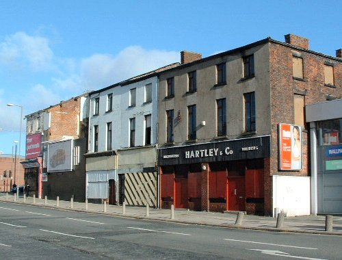 Moss Street and Prescot Street