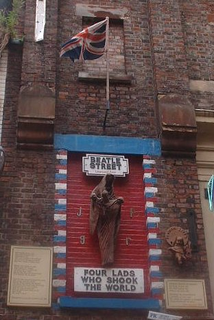 The Beatle Street in Mathew Street