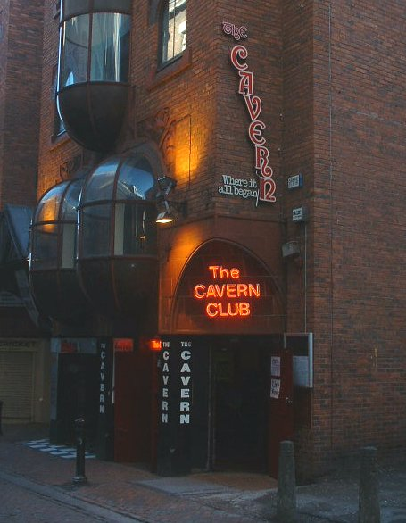 The Cavern Club in Mathew Street