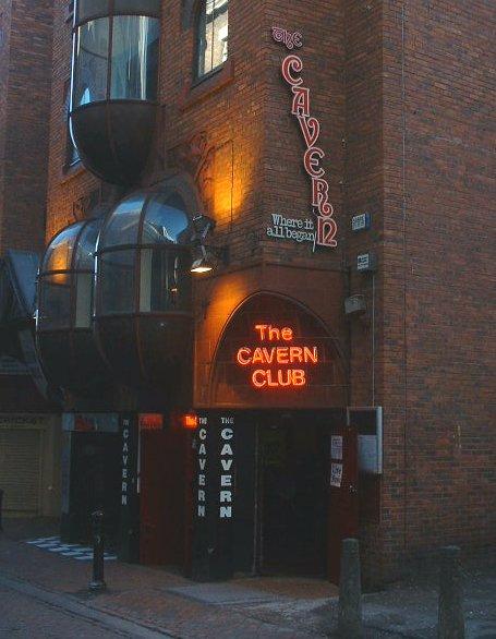 The Cavern Club in Mathew Street