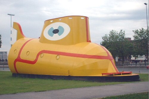 The Yellow Submarine on Chavasse Park