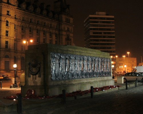 The Cenotaph at night
