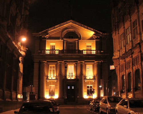 The former Bank of England building