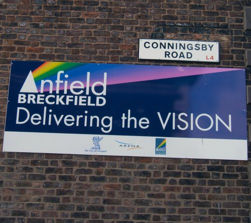 Conningsby Road sign