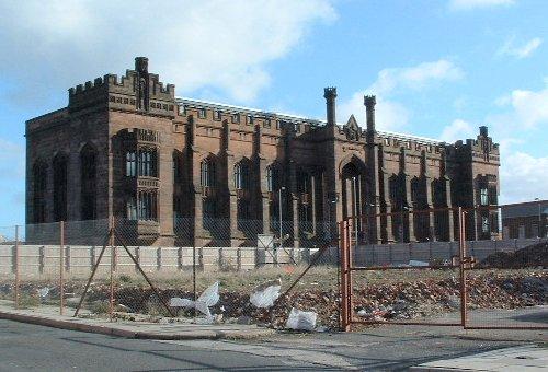 Liverpool Collegiate Institution in Shaw Street