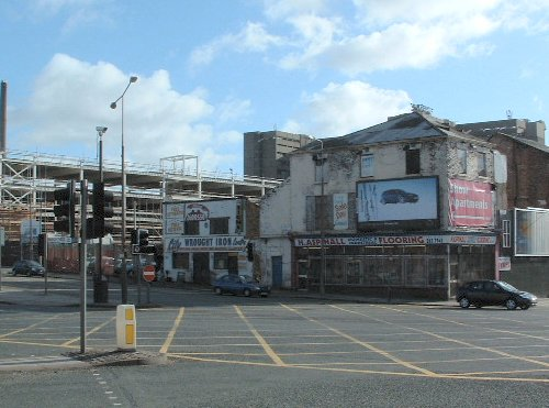 Erskine Street in Everton