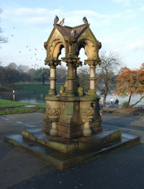 Sefton Park in south Liverpool