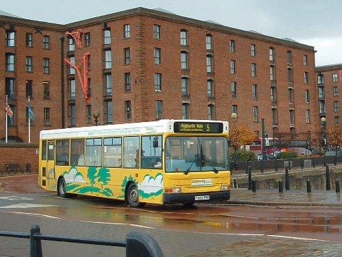 A Smart Bus in the Albert Dock